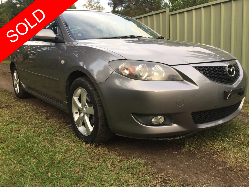 sold 2004 mazda 3 maxx sport automatic used vehicle. Black Bedroom Furniture Sets. Home Design Ideas