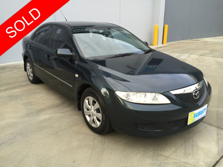 sold 2003 mazda 6 automatic used vehicle sales. Black Bedroom Furniture Sets. Home Design Ideas