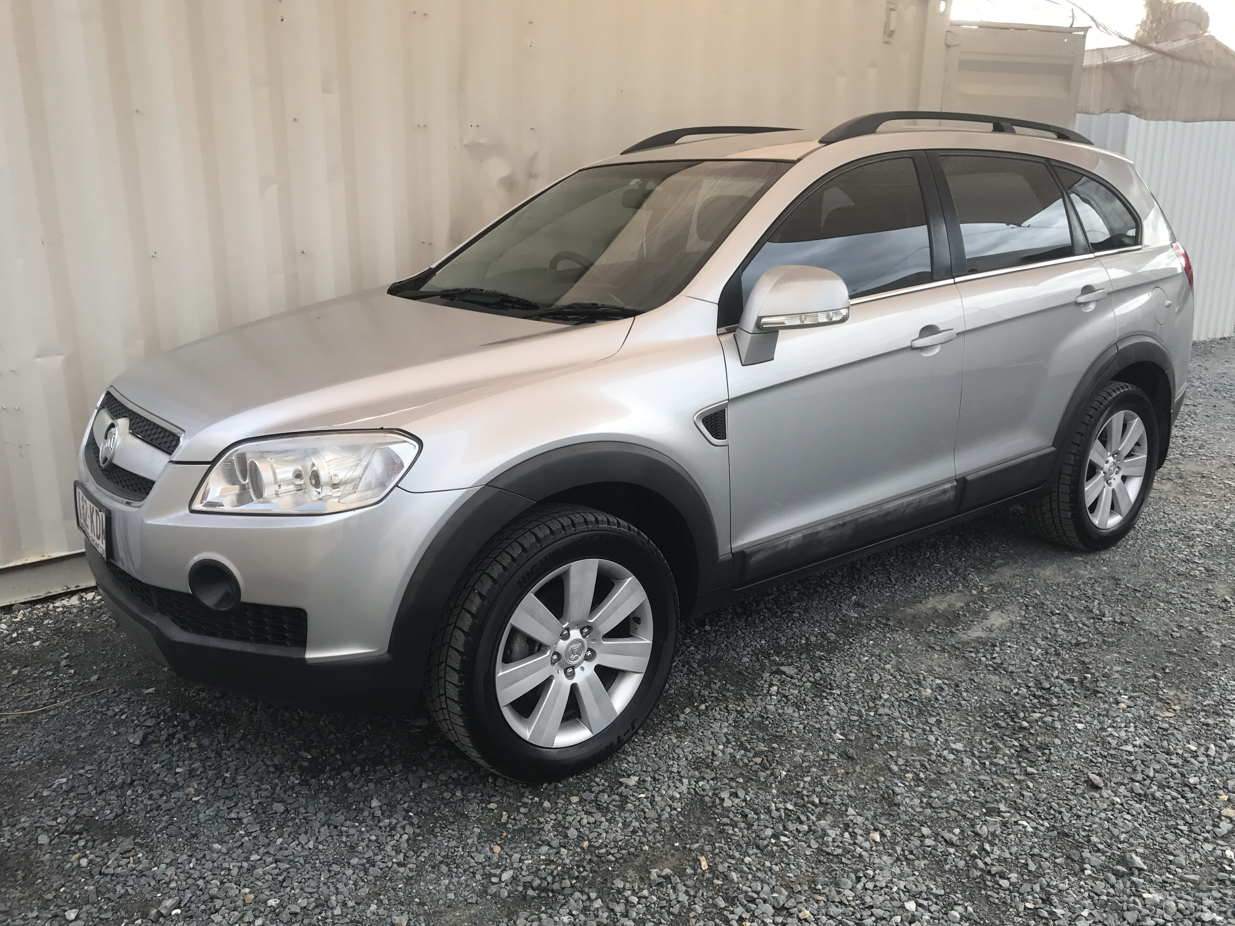 sold automatic 7 seater 4x4 suv wagon holden captiva 2007 used vehicle sales. Black Bedroom Furniture Sets. Home Design Ideas