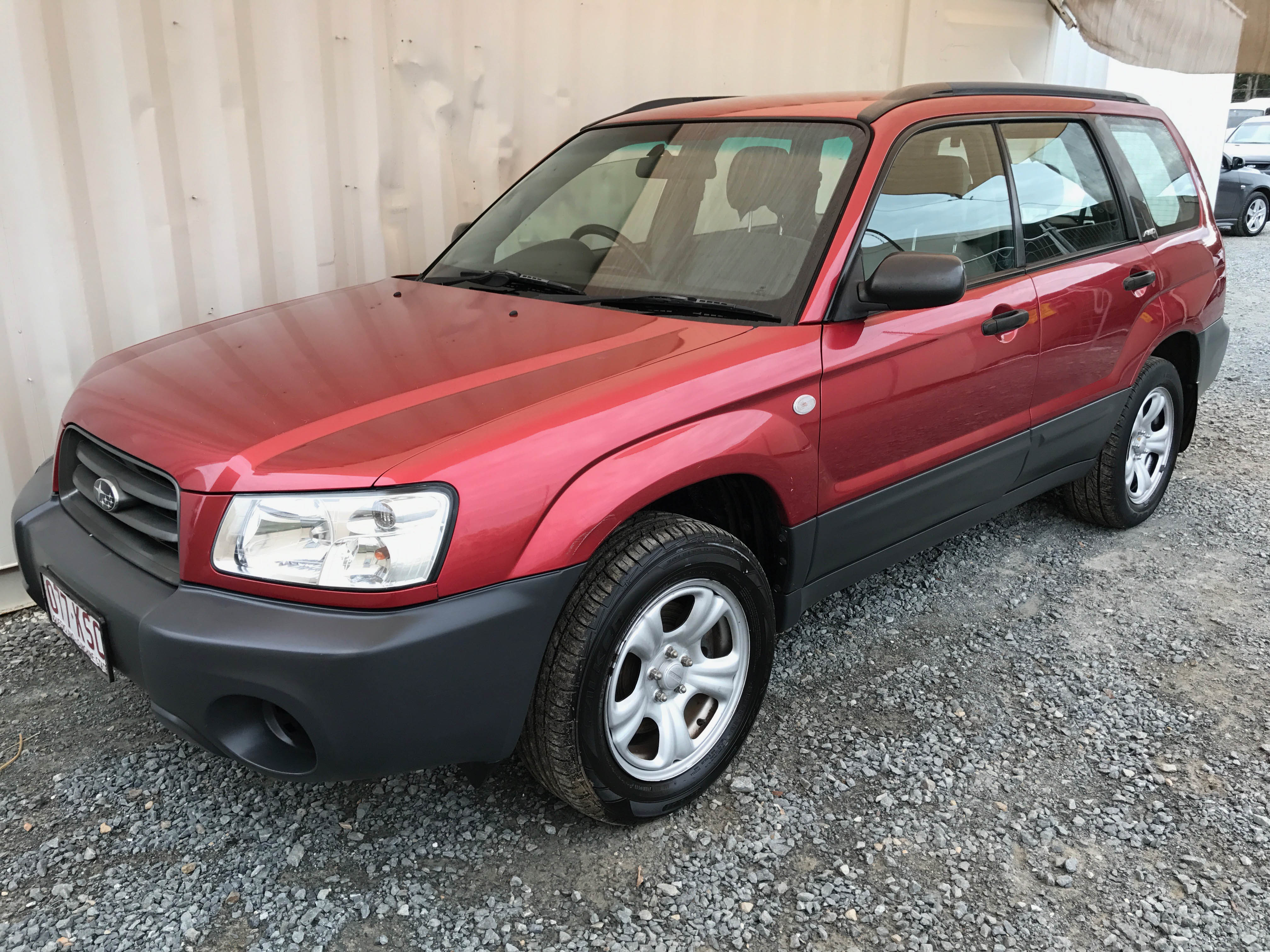 sold 4cyl awd wagon subaru forester 2 5 x 2003 used vehicle sales. Black Bedroom Furniture Sets. Home Design Ideas
