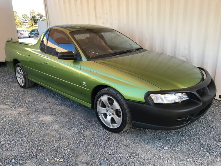 Commodore Ute VY 6 cylinder with hardlid 2003