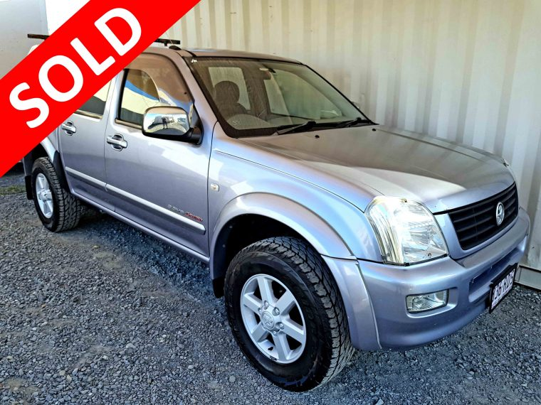 Automatic-Cars-4x4-Dual-Cab-Ute-Holden-Rodeo-2004-sold