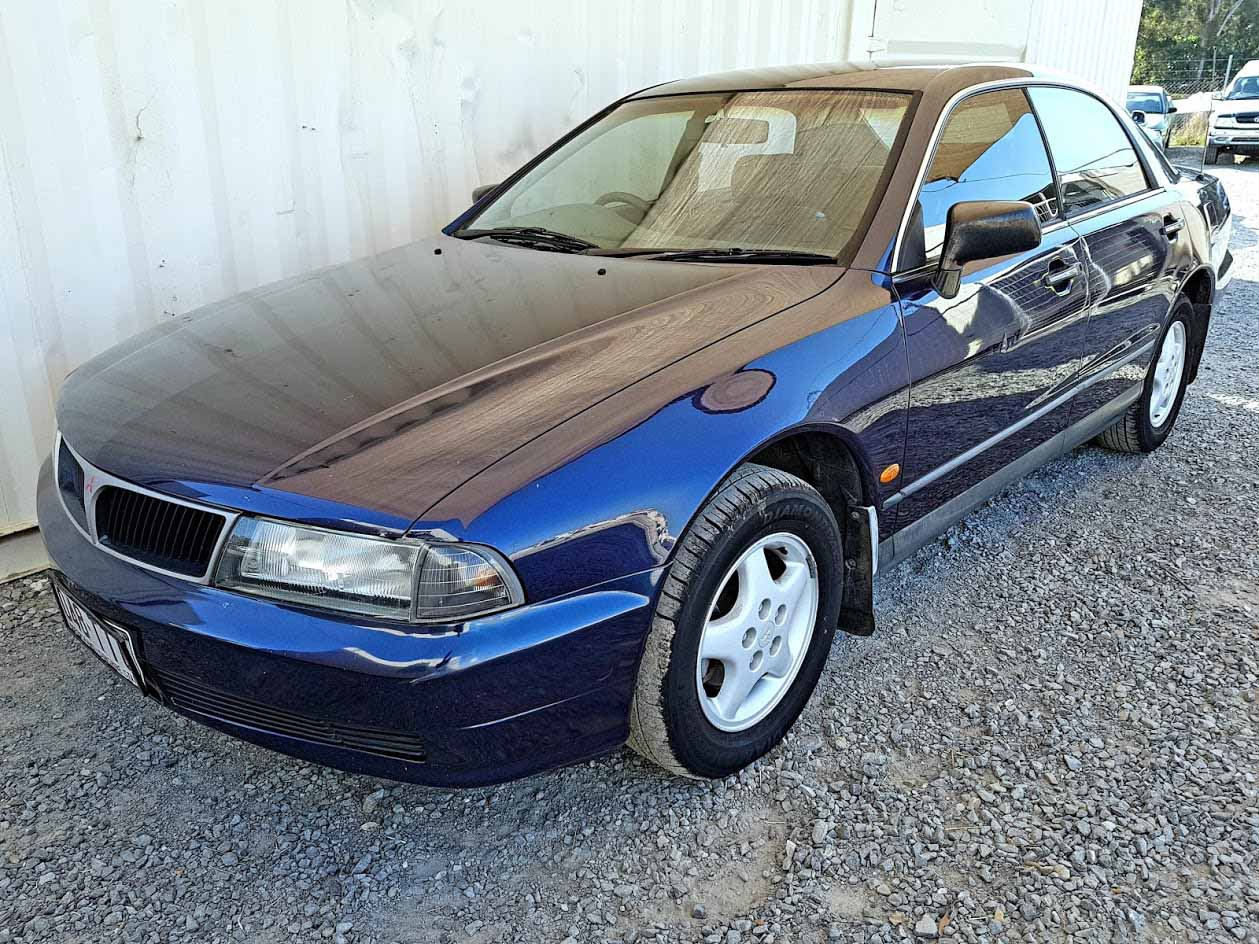 Cheap with RWC. As Traded. Automatic 6cyl Sedan Mitsubishi Magna 1998 For Sale -3