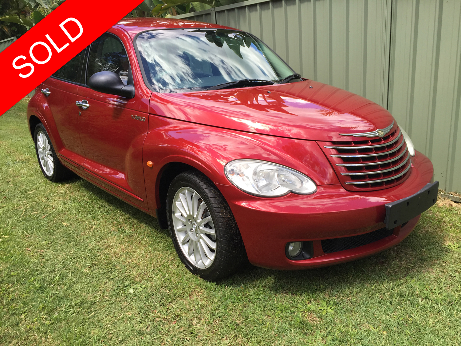 2005 chrysler pt cruiser red used vehicle sales. Black Bedroom Furniture Sets. Home Design Ideas