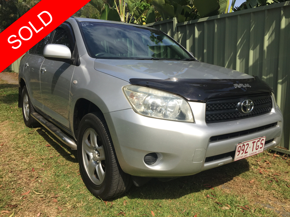 2006 Toyota RAV 4 Manual 4x4 Silver - Used Vehicle Sales