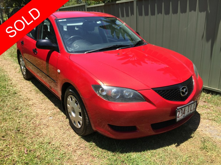2004 mazda 3 bk neo red 5 speed manual sedan used vehicle sales. Black Bedroom Furniture Sets. Home Design Ideas
