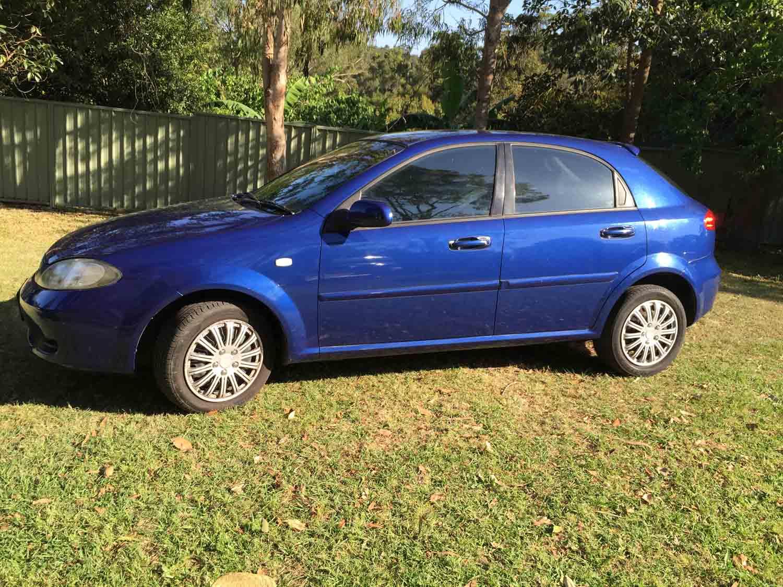 Used Jeep Cherokee For Sale >> 2005 Holden Viva Blue Hatchback - Used Vehicle Sales