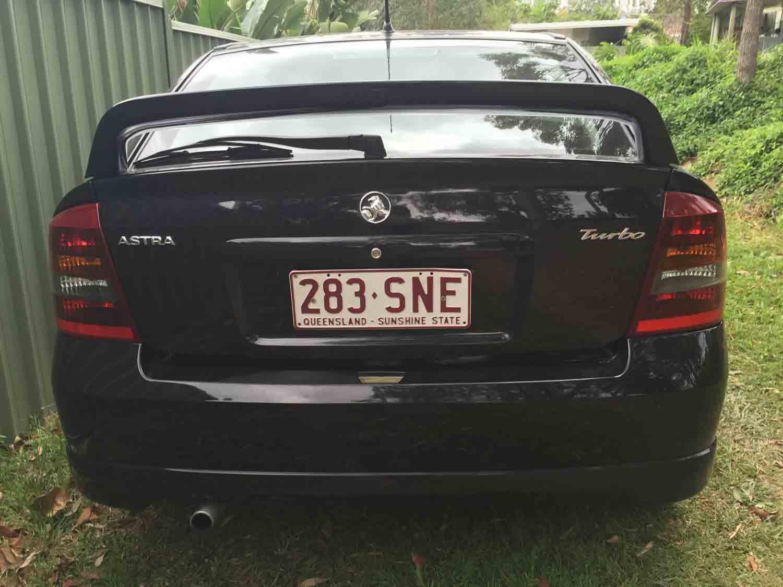 2003 Holden Astra TS SRI Turbo Black - Used Vehicle Sales