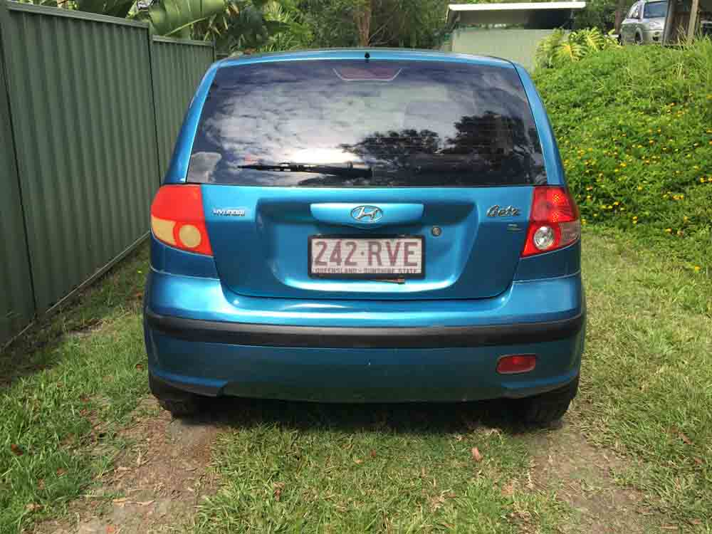 2004 hyundai getz hatchback blue used vehicle sales. Black Bedroom Furniture Sets. Home Design Ideas