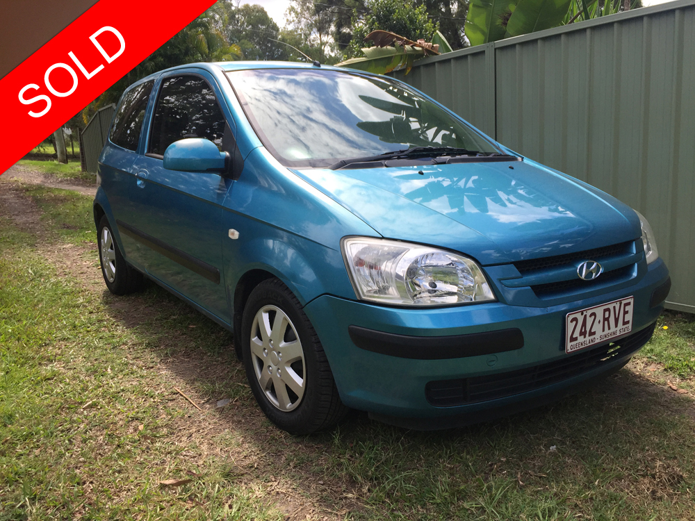 2004 hyundai getz sold used vehicle sales. Black Bedroom Furniture Sets. Home Design Ideas