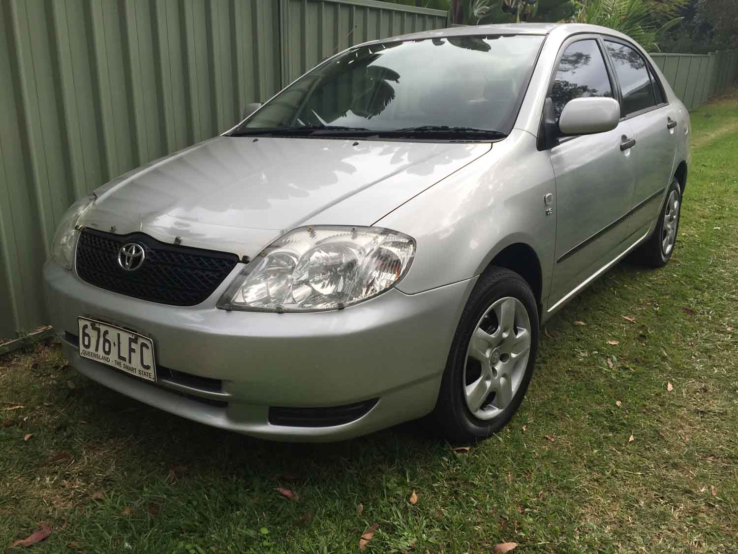 2004 toyota corolla zze122r ascent silver - used vehicle sales