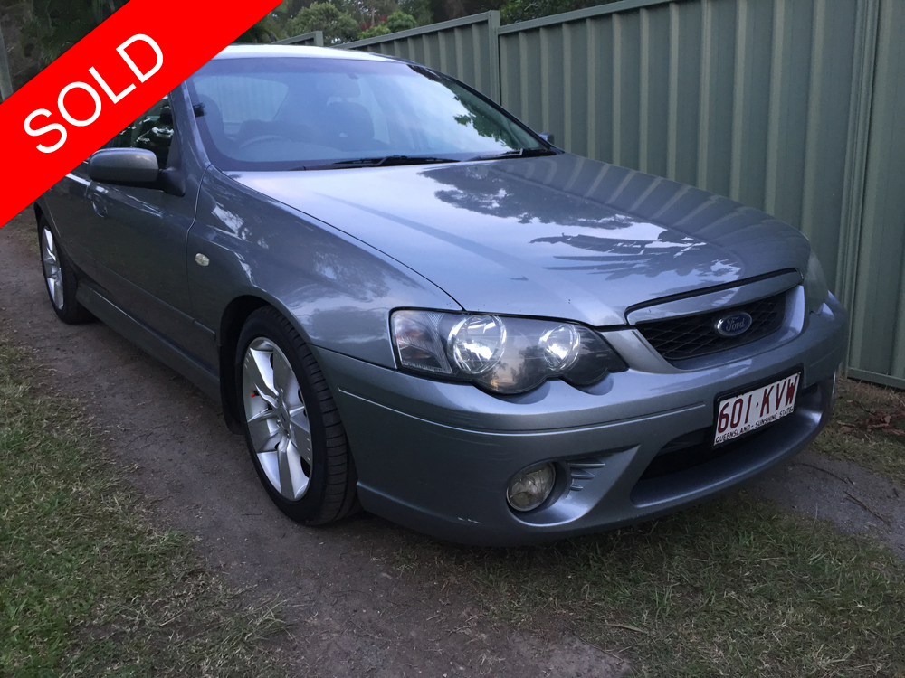 Ford Extended Warranty >> 2006 Ford Falcon XR6 BF Mk II Grey - Used Vehicle Sales