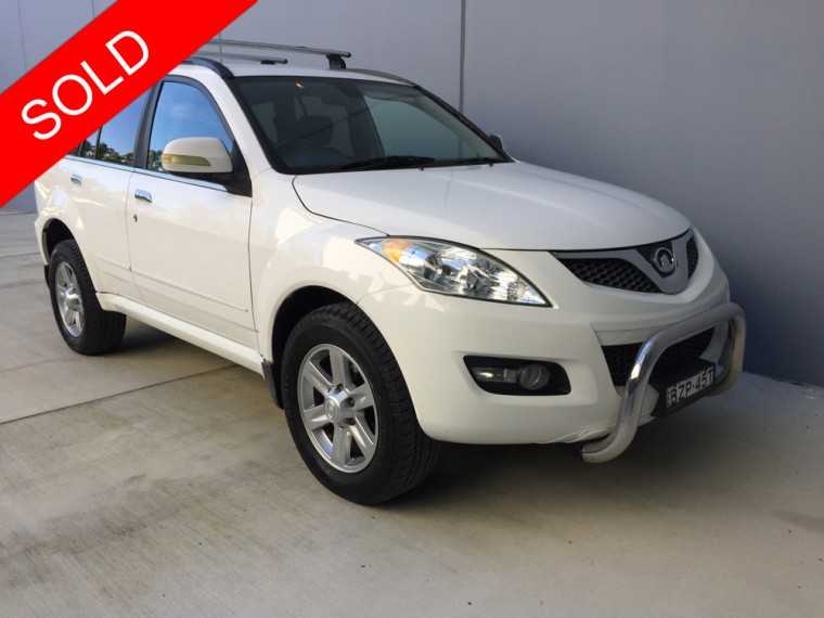 2011 Great Wall x240 SOLD