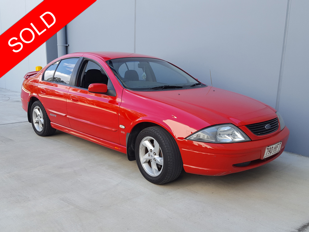 2002 Ford Falcon Sr Au Series 3 Red