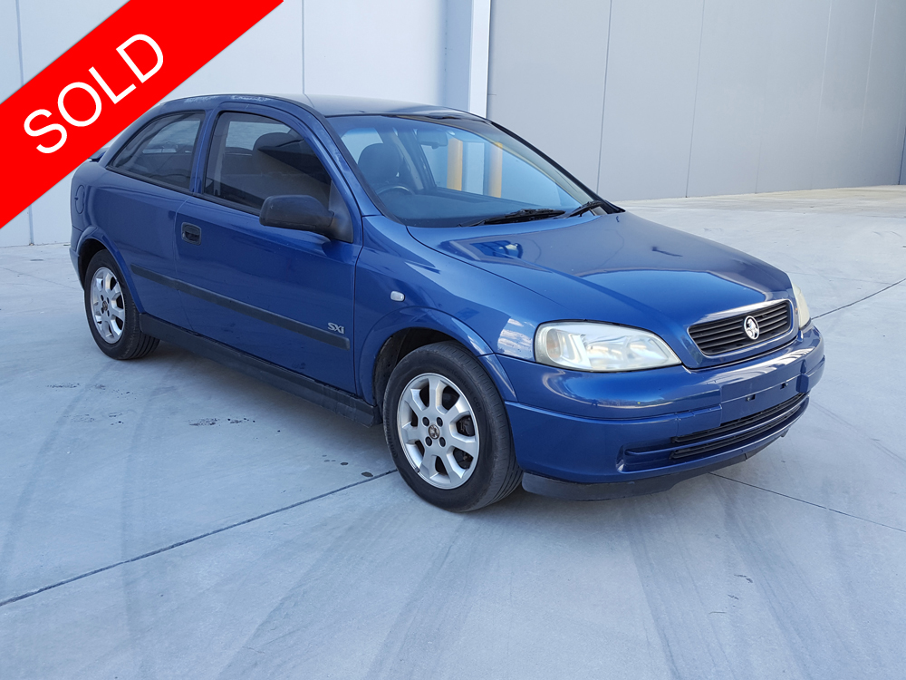 2003 Holden Astra Blue SOLD - Used Vehicle Sales