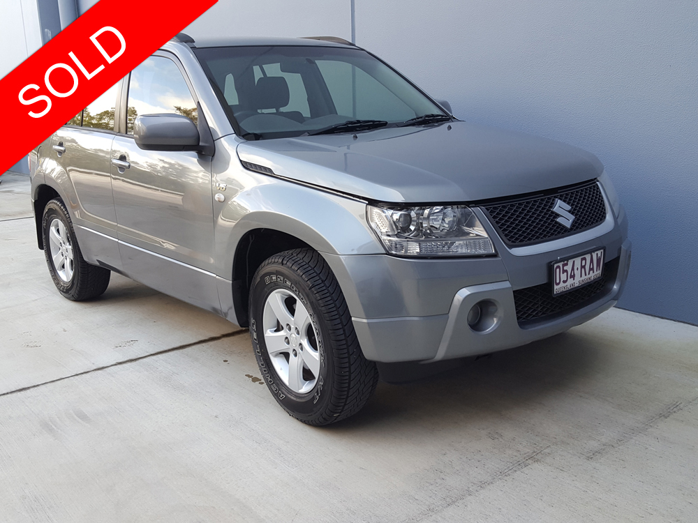 2006 suzuki grand vitara grey sold used vehicle sales. Black Bedroom Furniture Sets. Home Design Ideas
