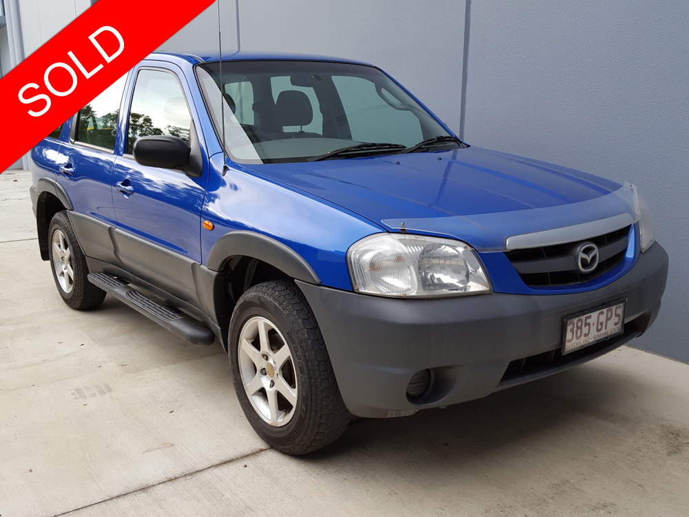 No Haggle Price >> 2002 Mazda Tribute 4x4 Automatic Low Km Blue - Used Vehicle Sales