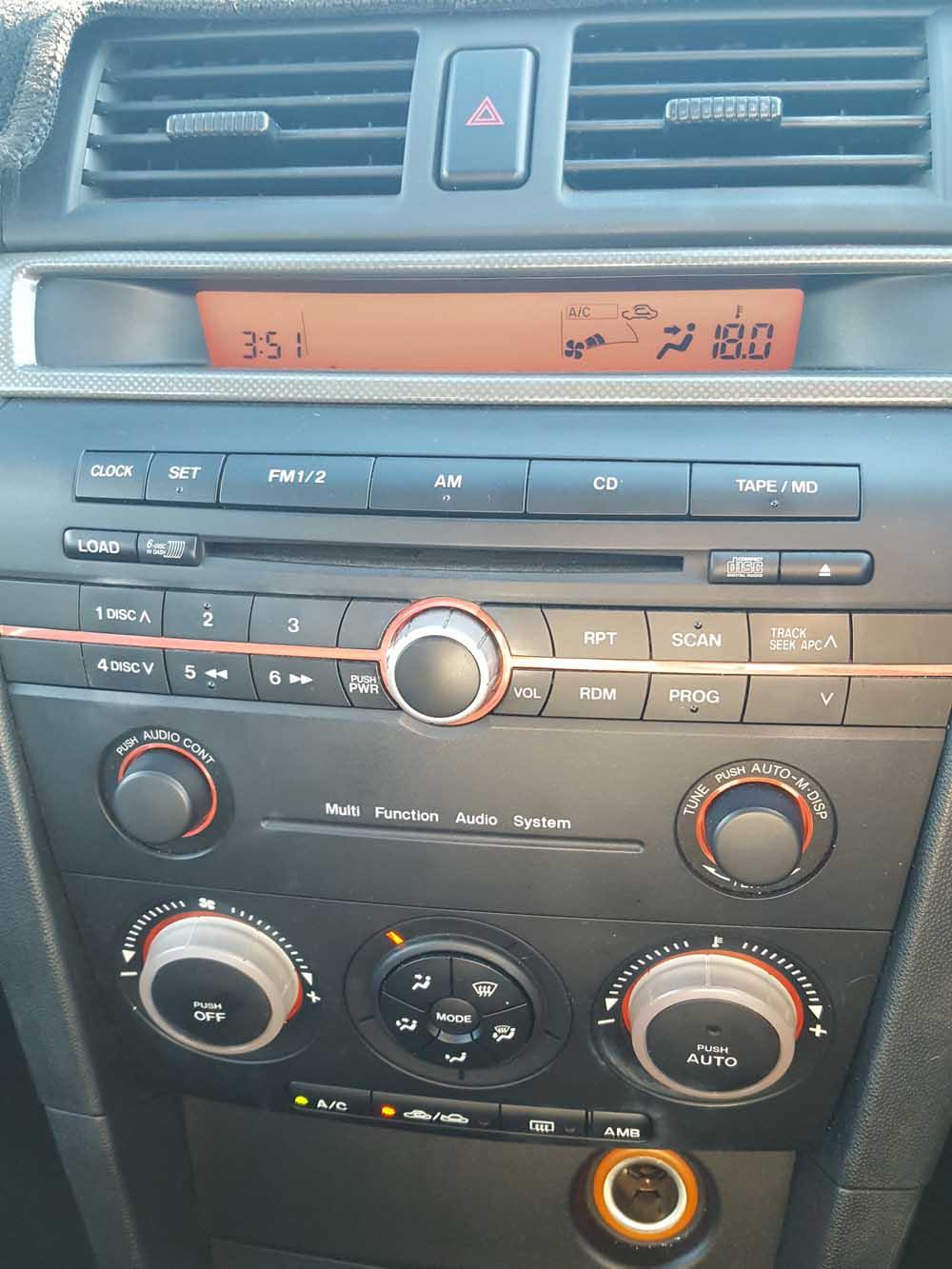 Mazda 3 SP23 Manual Sedan 2005 Grey