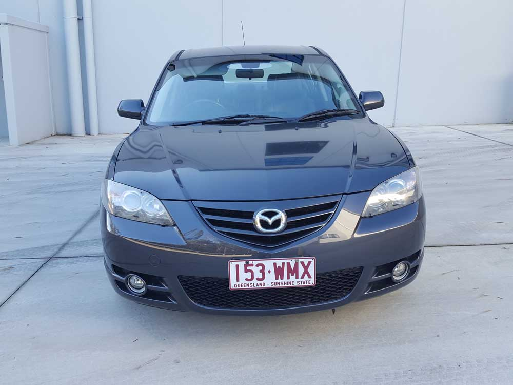 2005 mazda 3 sp23 manual sedan grey used vehicle sales. Black Bedroom Furniture Sets. Home Design Ideas