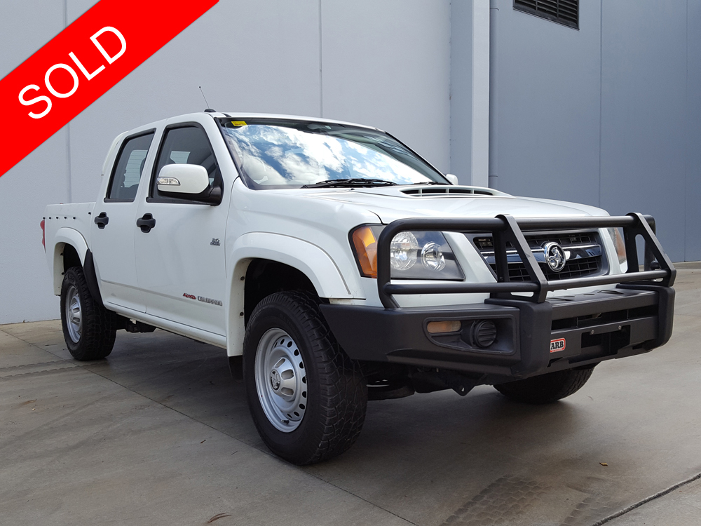 2010 Holden Colorado Manual 4x4 (Diesel) White - Used ...