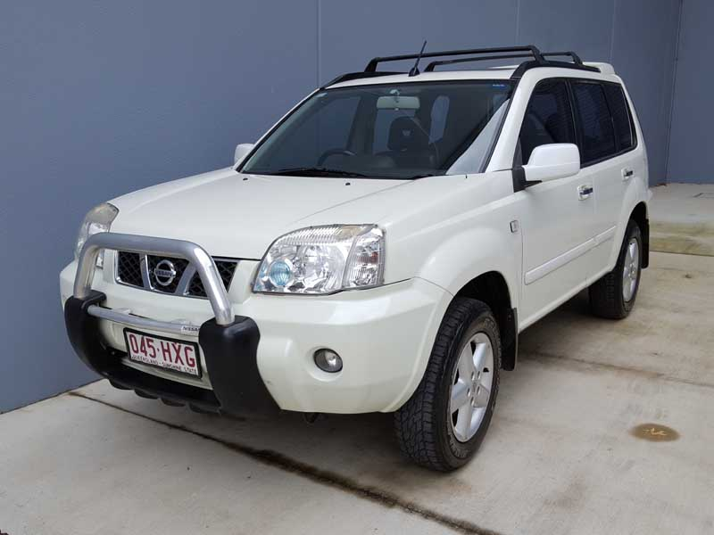 2004 nissan x trail auto white used vehicle sales. Black Bedroom Furniture Sets. Home Design Ideas