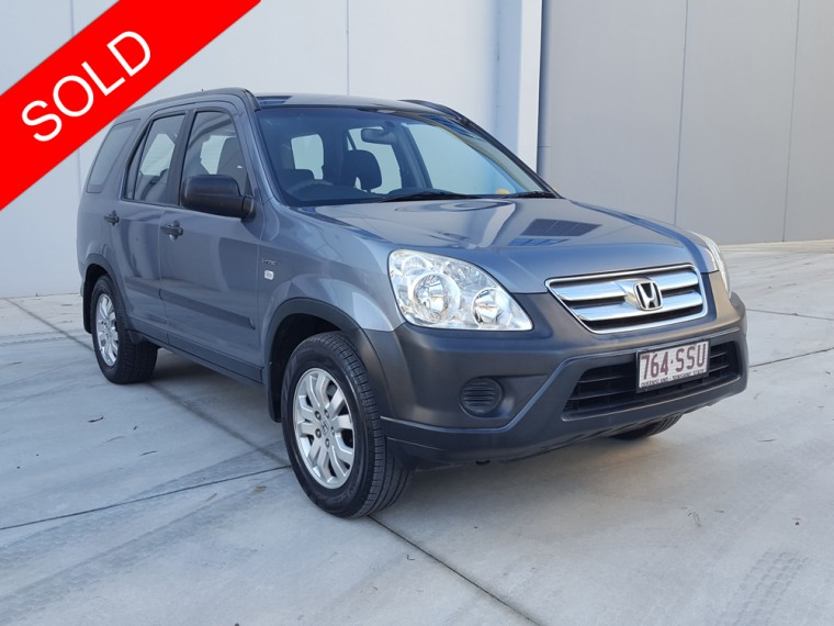 2006 honda crv 4x4 wagon cosmic grey used vehicle sales for Gray honda crv