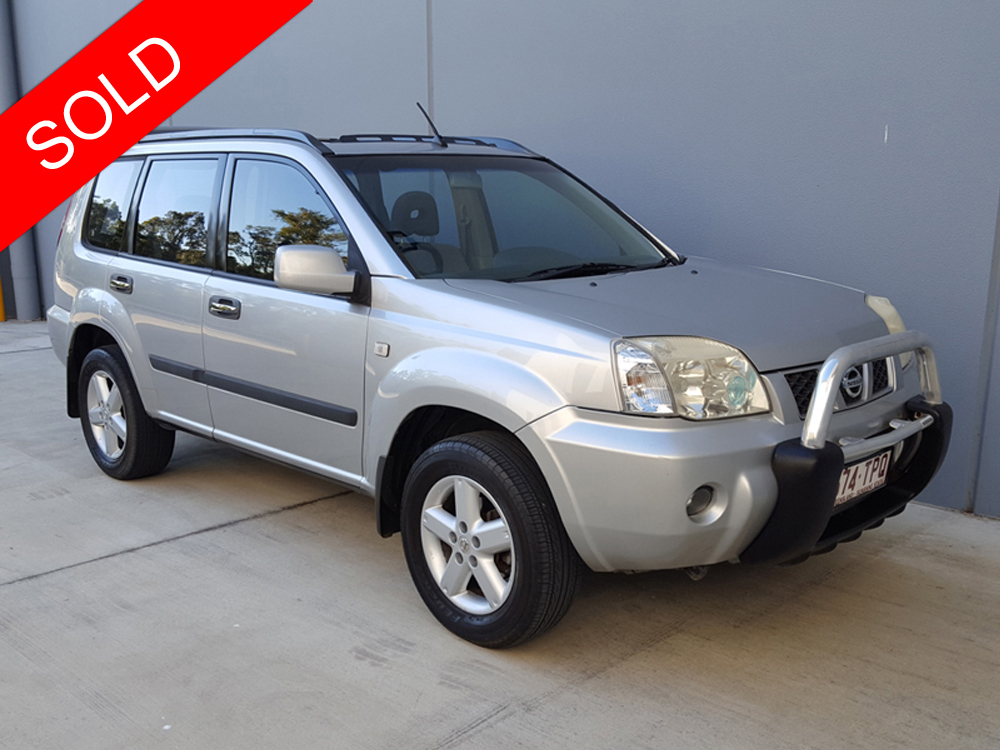 2006 nissan x trail st s x treme 4x4 silver used vehicle sales. Black Bedroom Furniture Sets. Home Design Ideas