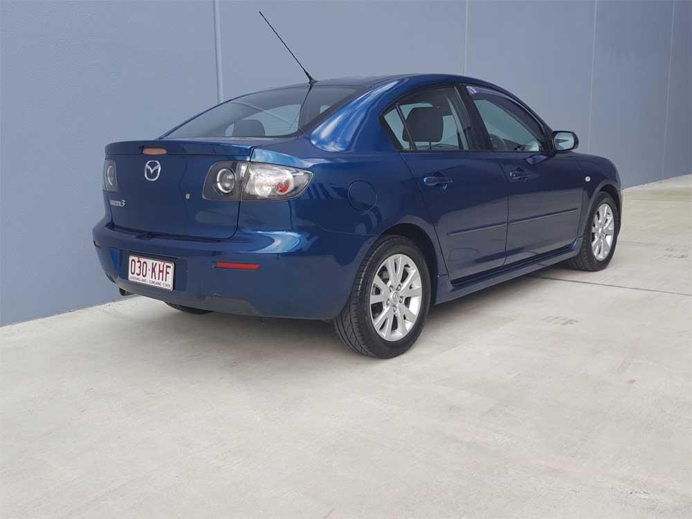 mazda 3 maxx sport auto sedan 2007 blue 6 used vehicle sales. Black Bedroom Furniture Sets. Home Design Ideas