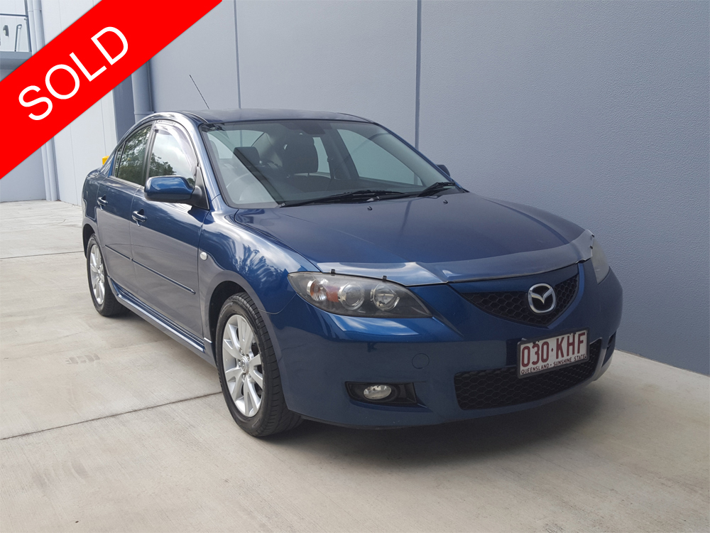 2007 mazda 3 maxx sport auto sedan blue used vehicle sales. Black Bedroom Furniture Sets. Home Design Ideas