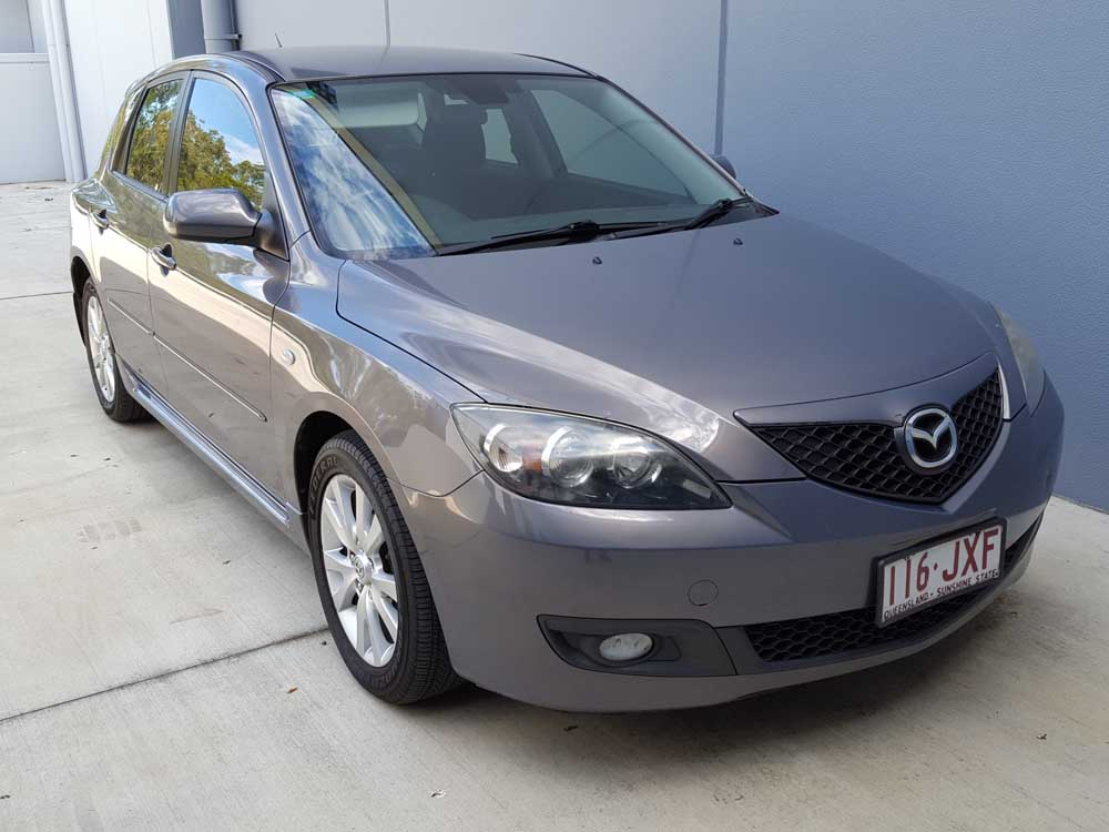 2006 mazda 3 hatchback manual