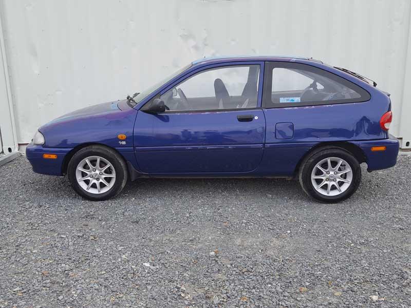 Ford Festiva Hatchback Blue