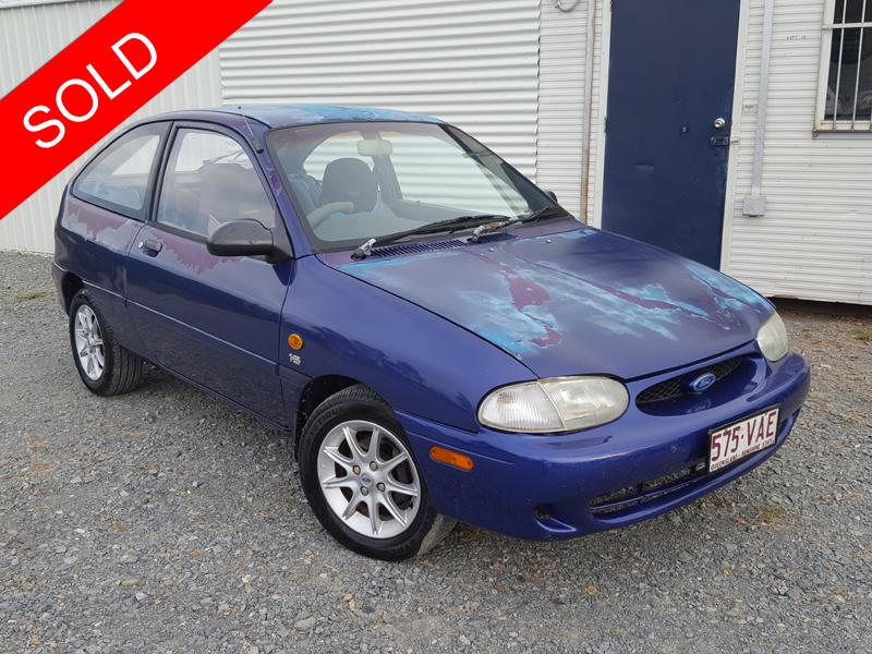 2000 Ford Festiva Hatchback Blue Used Vehicle Sales
