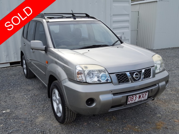 2003 nissan x trail auto 4x4 silver used vehicle sales. Black Bedroom Furniture Sets. Home Design Ideas