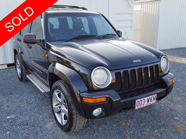 2004 jeep cherokee automatic 4x4 black used vehicle sales. Black Bedroom Furniture Sets. Home Design Ideas