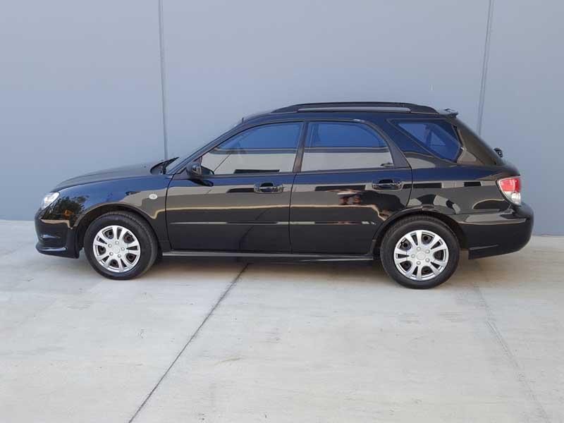 2006 automatic subaru impreza hatchback black used vehicle sales. Black Bedroom Furniture Sets. Home Design Ideas