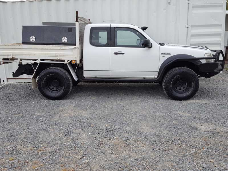 2007 Ford Ranger Space Cab White Used Vehicle Sales