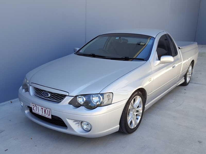 Ford Falcon Xr6 Ute 2008 Silver 3 Used Vehicle Sales
