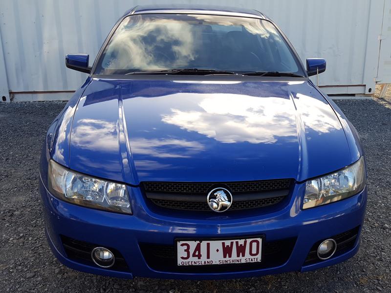 Holden Commodore SVZ 2006 Blue  2