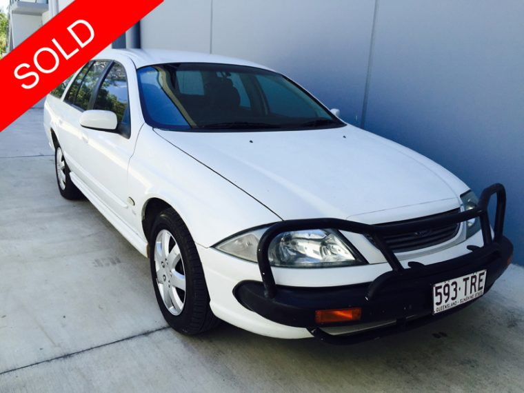 Ford Falcon Station Wagon AU series III 2002 White - Used
