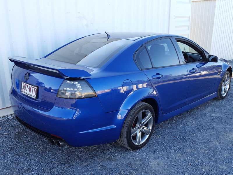2007 Holden Commodore Sv6 Automatic Sedan Blue Used