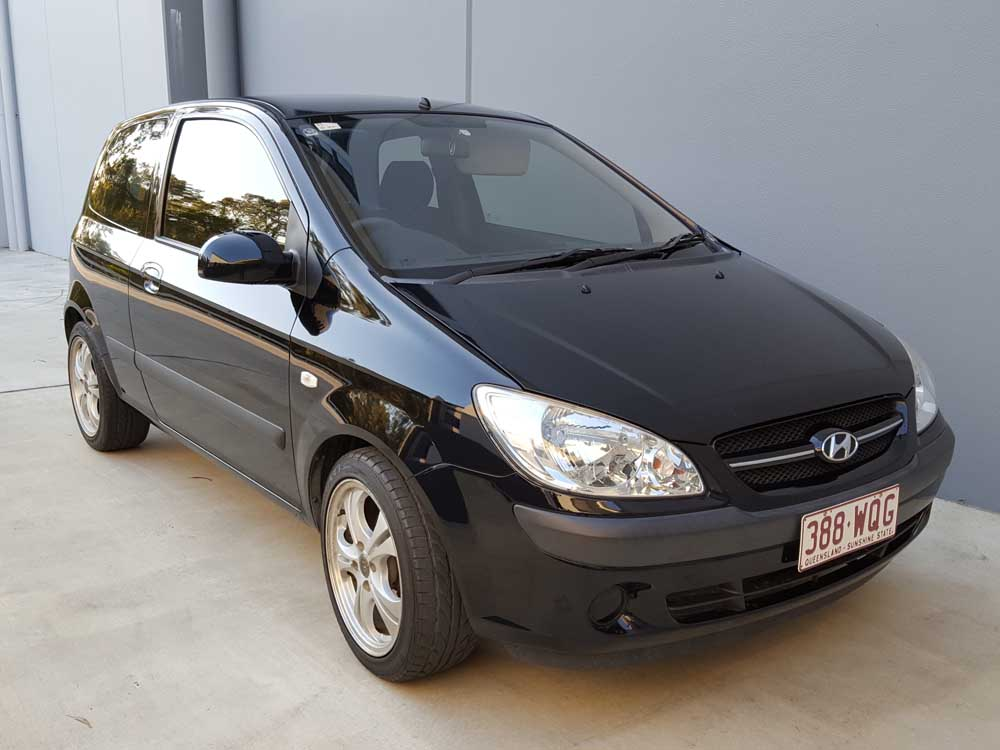 hyundai getz 2008 black 1 used vehicle sales