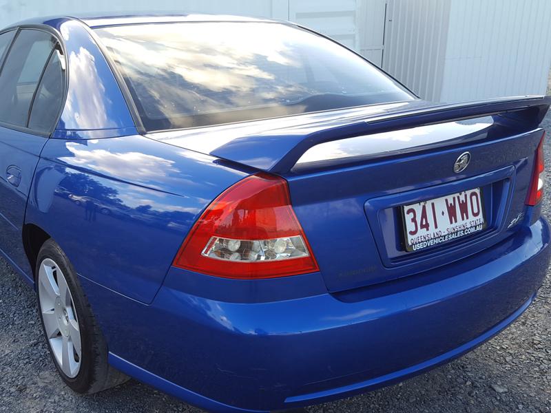 Holden Commodore SVZ 2006 Blue  5