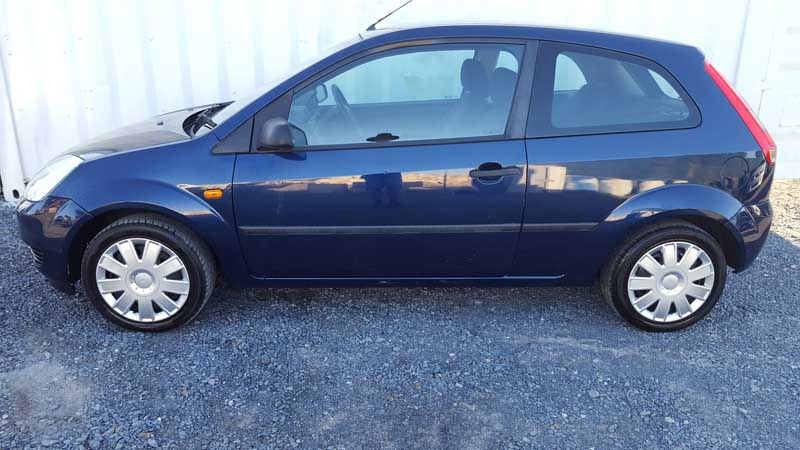 Cars For Sale Qld >> Ford Fiesta Hatchback 2005 Blue - Used Vehicle Sales