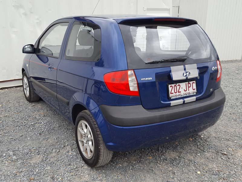 hyundai getz 3d hatchback 2005 blue 5 used vehicle sales. Black Bedroom Furniture Sets. Home Design Ideas