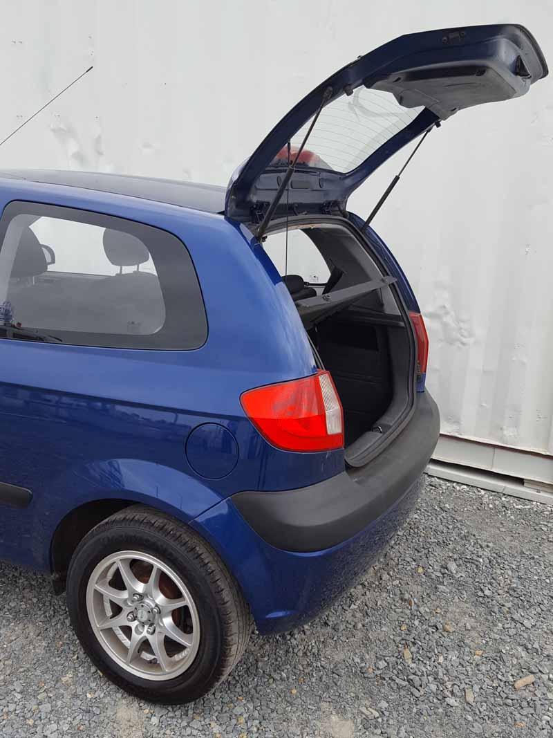 hyundai getz 3d hatchback 2005 blue 6 used vehicle sales. Black Bedroom Furniture Sets. Home Design Ideas