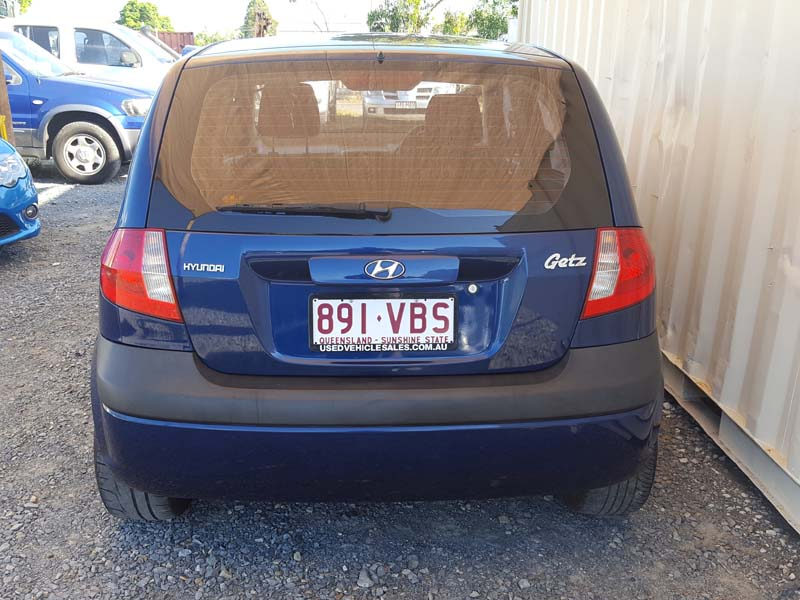 2006 Hyundai Getz Hatchback Blue - Used Vehicle Sales