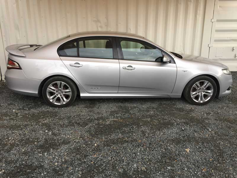 6 Door Ford Truck >> Ford Falcon FG XR6 Silver Sedan 2008 Silver - Used Vehicle Sales