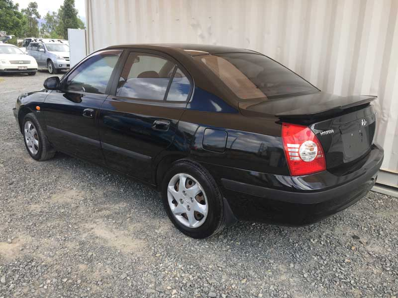Hyundai Elantra Black 2005 Black Used Vehicle Sales
