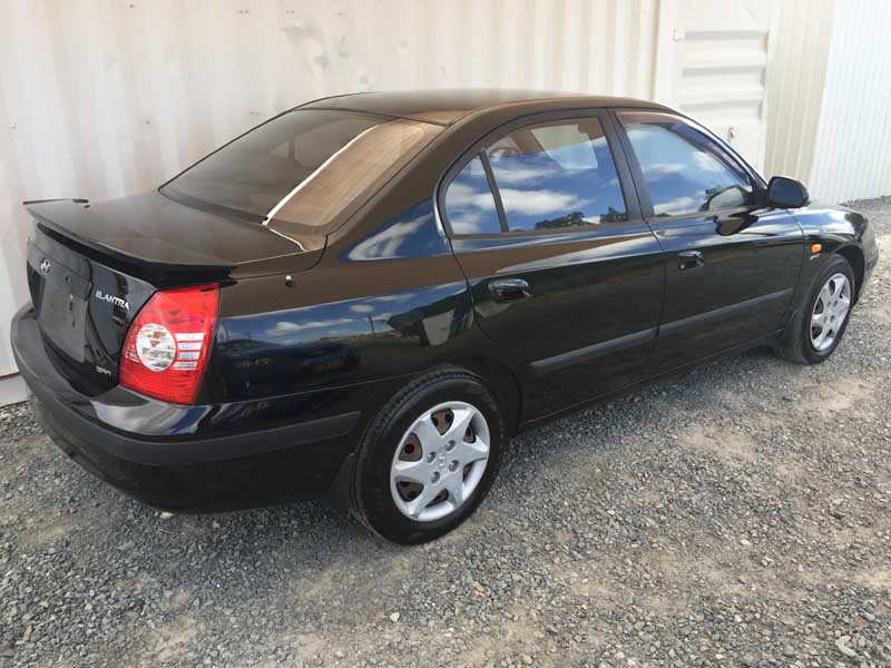 Hyundai Elantra Black 2005 Black Used Vehicle Sales