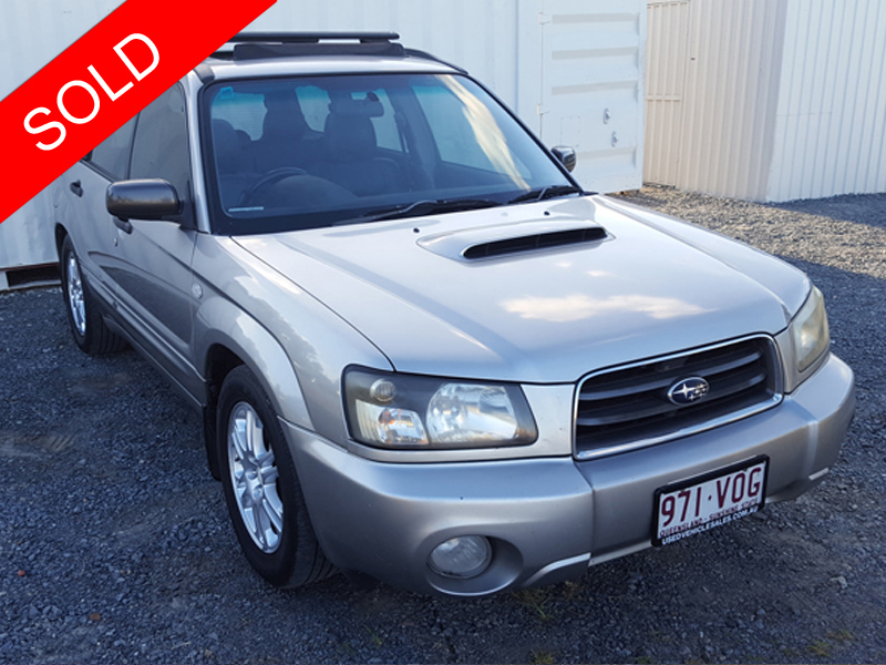 subaru forester xt all wheel drive 2004 silver used vehicle sales. Black Bedroom Furniture Sets. Home Design Ideas